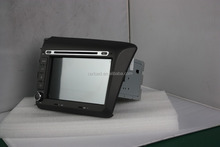 car dvd for 2 din wince double din car gps for 2012 civic with iPod, dvd, bt, usb, Radio, analog tv, steering wheel control