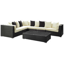 2015 New design poly rattan outdoor garden furniture import