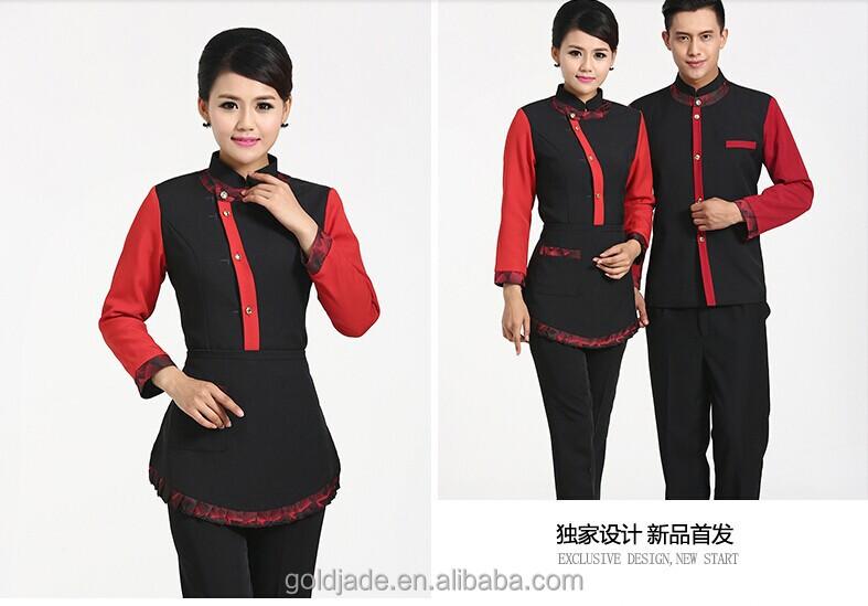 Staff uniform design images for Hotel design jersey