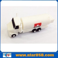 2G, 4G, 8G New personalized PVC oil tank truck usb flash memory for electronic promotion gift