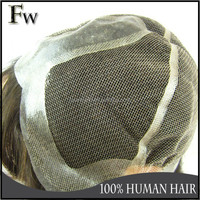 Customized human hair wig to quality silk base thin skin wig caps full lace wig