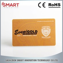 4 color printing plastic card with barcode