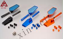CNC aluminium motorcycle bar end mirrors for Koso,yamaha,Ducati,