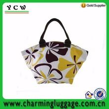 New fashion elegant design high quality nylon foldable shopping bag