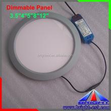 "3.5"" 4"" 5"" 8"" 12"" Factory Price LED Panel Light,SMD 2835 DIY LED Light Panel,Strongest Bright Round LED Lighting Panels"