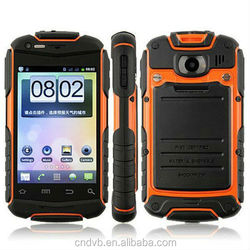 MTK6572 dual core dual sim dual standby 3G GPS WIFI smart android waterproof mobile phone low price