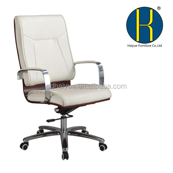 Swivel Wood Office Chairs With Casters High Back Wood