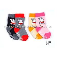 la fábrica de taiwán conejo bebé calcetines