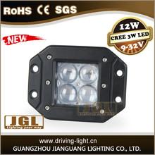 high spot led pod work light cree 12w led work lamp 12v motorcycle led headlight