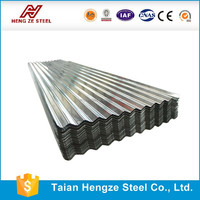 SGCC DX51D SGLCC Hot Dipped ZINCALUME / GALVALUME Galvanized steel corrugated roof panel / wall panel / plate /sheet