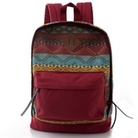 Vintage Backpack Rucksack Casual Canvas weekend School Bag Travel Bag Blank Canvas Backpack Bag
