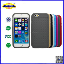 Patent Product for TPU& Aluminum Bumper back Case cover for Iphone 6 for Iphone 6 Plus