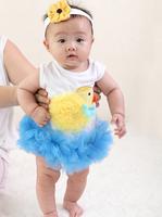 European Children Clothing Wholesale Baby Rompers Cotton Baby Bodysuit