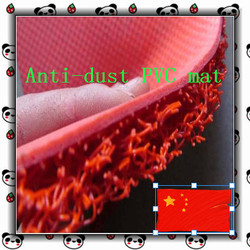 2015 anti slip heavy duty vinyl cushion mats foam backing factory direct export