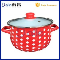 2015 hot sale good quality enamel hot pot