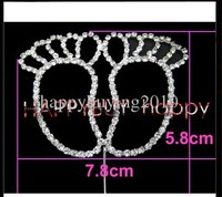 baby footprint cake toppers