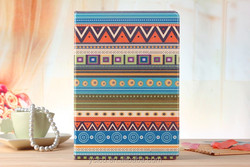 National Style Stand For iPad Air 2 PU Leather Case