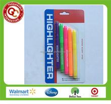 Newest novelty 5 colors highlighter pen