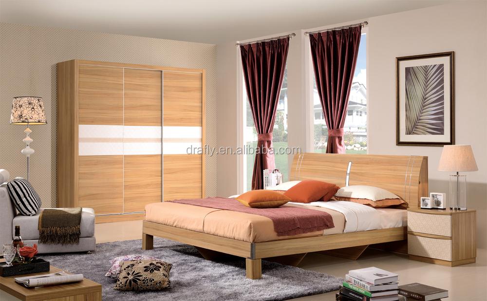 Moderna in legno forte testata del letto in pvc mobili camera da ...