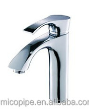 Chrome plating faucet single handle brass wash basin faucets/mixer/taps