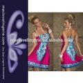 Duraron ml18074 rosa mini vestido de infinidad de ropa étnica/ropa