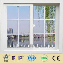 AFOL hot sale cheap price pvc sliding windows,horizontal sliding windows