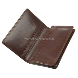miscellaneous pockets leather business cardholder/oyster card holder