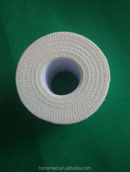 Zinc oxide tape adhesive sport tape with serrated edge 5cm*5m Strappal Zinc Oxide Tape new product