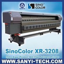 3M SinoColor XR-3208 Digital Printer, with Xaar Proton 382 Heads