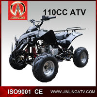JLA-07-07 110cc kids gas four wheelers cheap 4x4 atv type hot sale