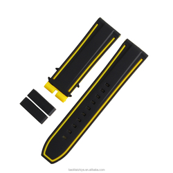 2015 top grade silicone watch strap