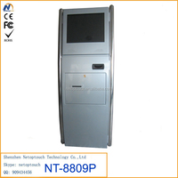 Touch Screen Self Prepaid Payment Kiosk