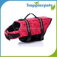 Custom fashionable pet dog life jackets for sale