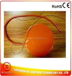 Silicone Rubber 3D Printer Heater 110v 400w Diameter 390*1.5mm 3M adhesive 100k thermistor 1000mm lead wire XD-H-D-1130