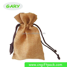 Hot sale jute pouch for jewelry By China manufacture
