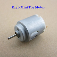 New 1.5-6V R140 Mini Toy Motor For DIY Four-wheel Drive Accessories