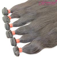 homeage free shipping inidan human hair 12 14 16 18 virgin indian hair overseas