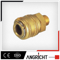 Industrial type(milton type)&one touch type male coupler copper hose barb fittings