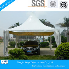 Hot Sale 6x6 Aluminum Outdoor pagoda Tent for car parking