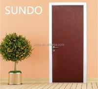 Ecology environmental interior design pressed oak solid wood kitchen cabinet door SUNDO Brand china supplier