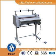 Easy operation Hot and cold laminator machine