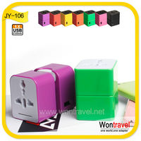 Wontravel New Design changeable travel charger with 2.1A,universal charger for phone/tablet/computer with CE ROHS FCC