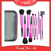 MSQ 11pcs Top Quality Synthetic Hair Cosmetic Brush Set