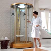 Freestanding Aluminium Profile Slide Glass Door Home Steam Showers (DQ-F8893)