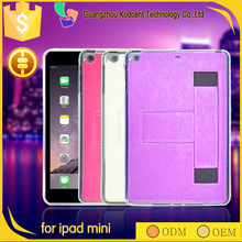 shockproof stand 7.9 inch PU leather belt clip case for ipad mini