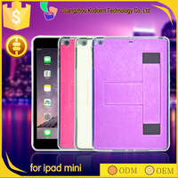 shockproof stand 8 inch PU leather belt clip case for ipad mini