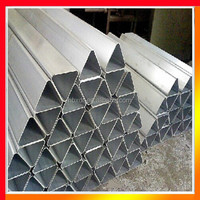 Anodized CNC Custom special types triangle aluminum extrusion profile