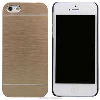 Newest Luxury Motomo For Apple iPhone 5 5S Aluminum Metal Brushed Hard Slim Case Cover