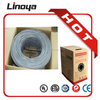 Cat 6A CM UTP Stranded Round Molded Patch Cord Cable