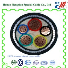 5-core ,five core Steel Tape Armored or non armored Power Cable